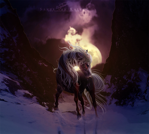 The Moon That Pulls Me by Esveeka