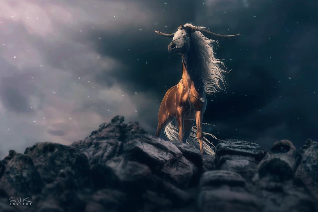 Storm and Silence by Esveeka
