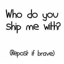 Who You Ship Meh With by BEA-Drowned