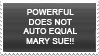 Powerful, Not Mary Sue by Novadestin