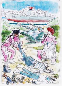 PLA Sailorettes vs Pirate Girls (15)