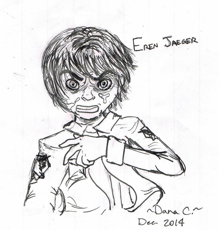 Eren Jaeger by GoneCrazy-BackIn5