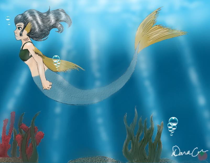 Mermaid by GoneCrazy-BackIn5