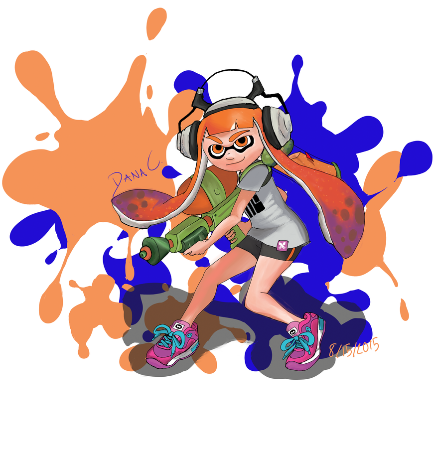Splatoon by GoneCrazy-BackIn5