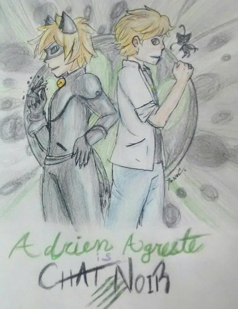Adrien Agreste is Chat Noir by GoneCrazy-BackIn5