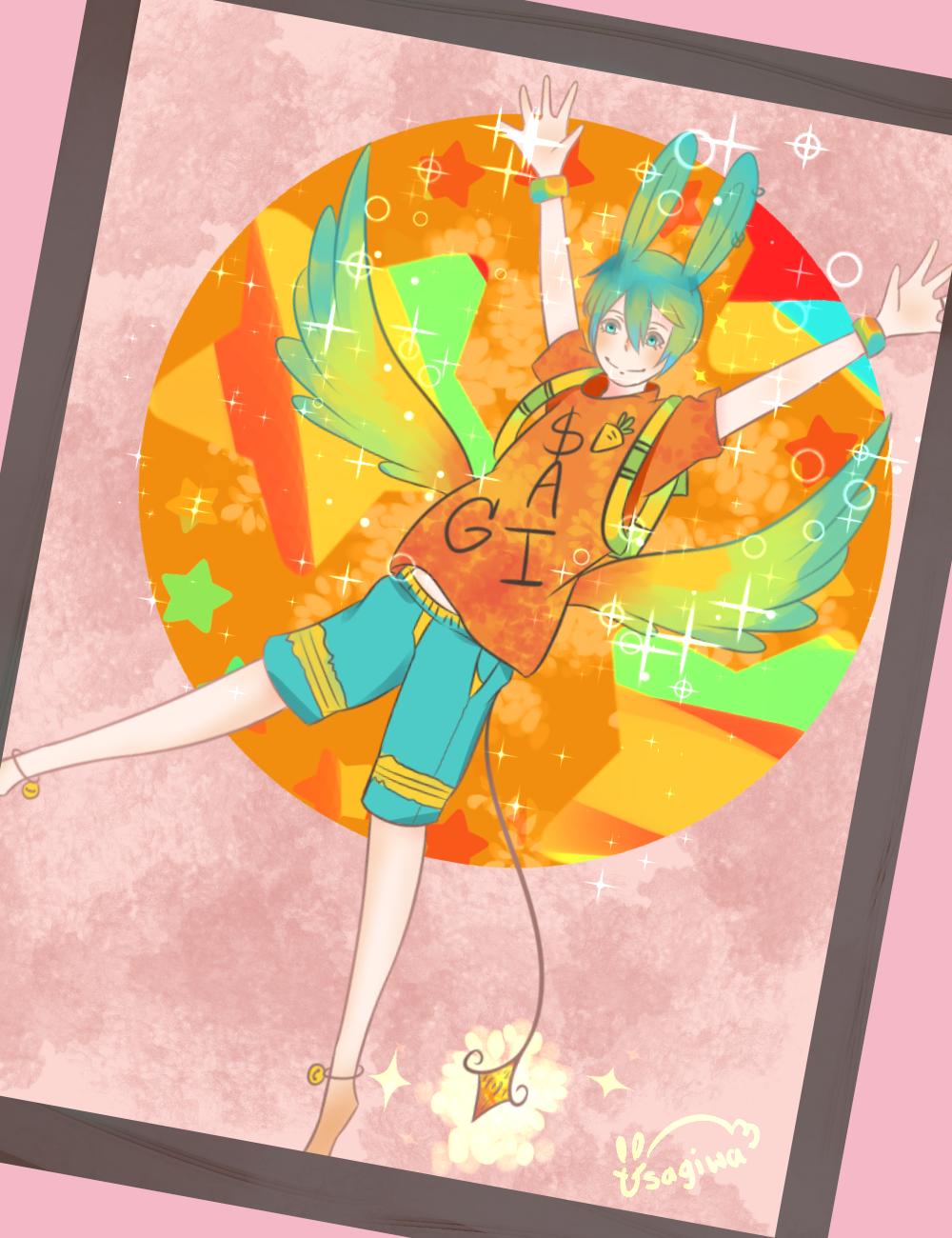 Usagi  wing by Usagiwasan