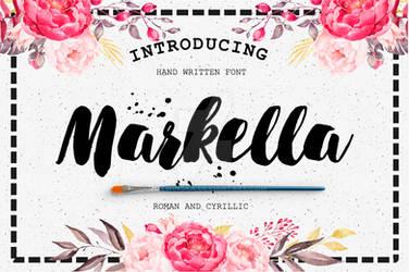 Markella Awesome Font by Jazwinska