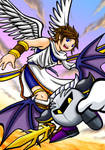 Pit and Metaknight
