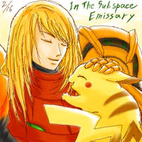Samus and Pikachu:SSBB by maruringo