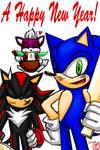Happy New Year 2009:Sonic