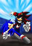 Sonic VS Shadow Always fight