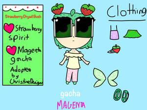 Strawberry Spirit By Blushingne