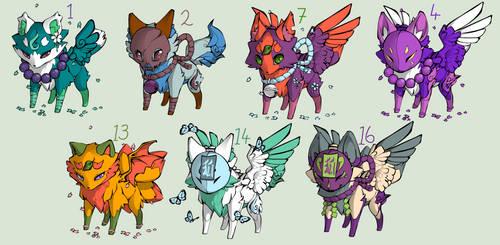 Masked Fox Adopts by bro-palmer