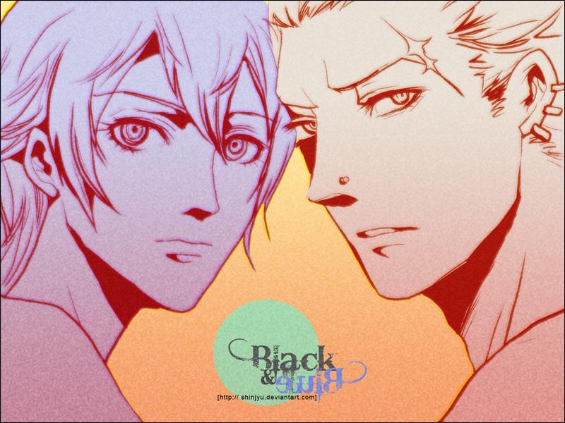 P4 - Black and Blue by shinjyu