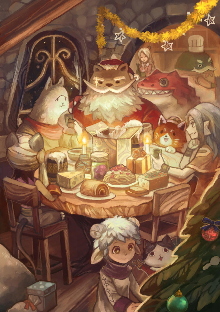 12Tails - Merry Christmas by shinjyu