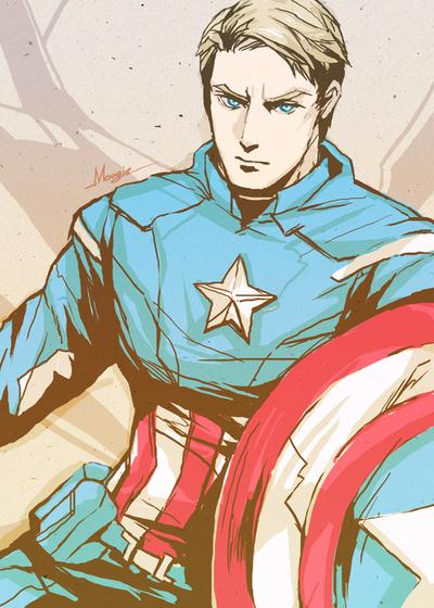 Avengers - Captain America by shinjyu