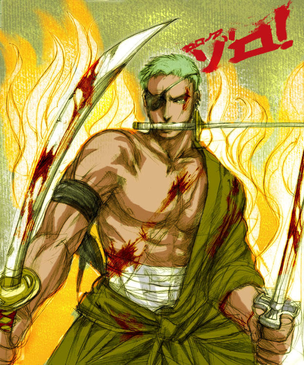 One Piece Zoro Wallpaper: Roronoa Zoro By Shinjyu On DeviantArt