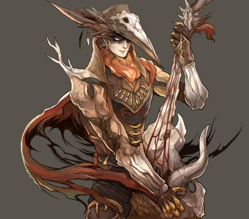 The DeadWoods Minstrel by shinjyu