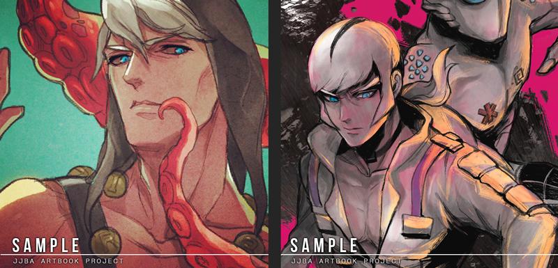 JJBA - Artbook sample 10/2014 by shinjyu