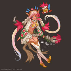 Thailand Magical Girl Malai by shinjyu