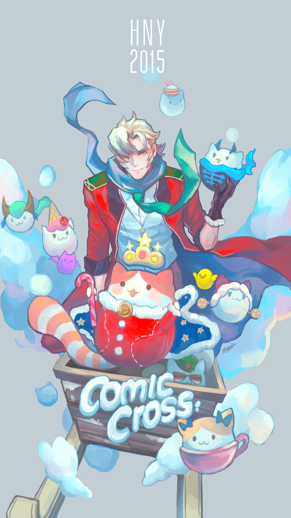 Comic Cross - HNY 2015 by shinjyu