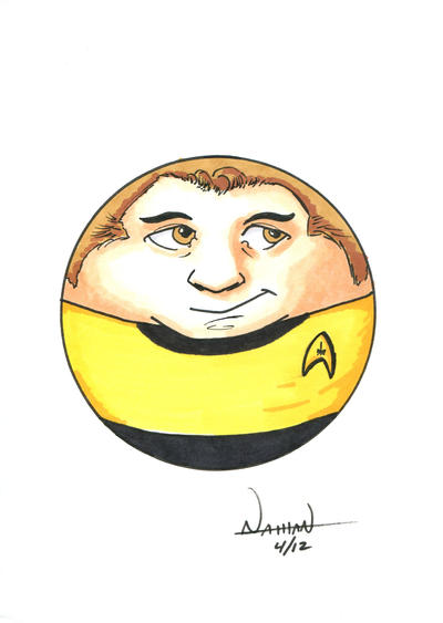 CircleToon: Captain Kirk by Fellhauer