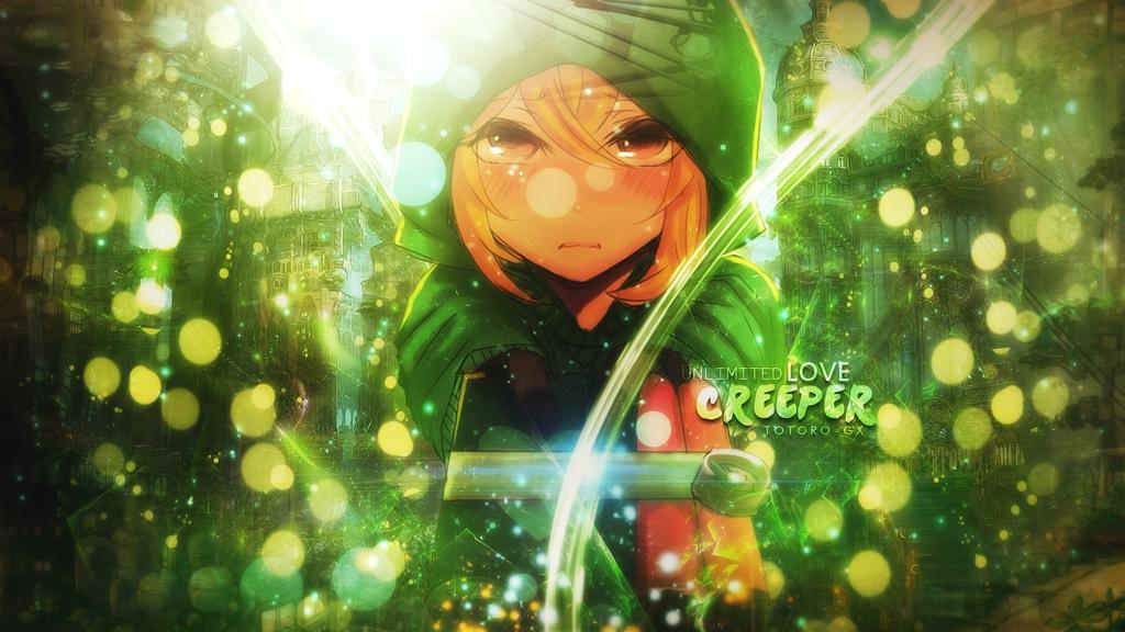 Creeper wallpaper by totoro gx on deviantart creeper wallpaper by totoro gx voltagebd Choice Image