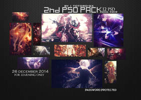 2nd PSD Pack (New Year Gift) by DeathToTotoro