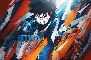 Midoriya Izuku by DeathToTotoro