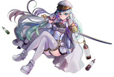 Aqua Admiral (Original) Render by DeathToTotoro
