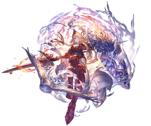 Athena (Grandblue Fantasy) Render by DeathToTotoro