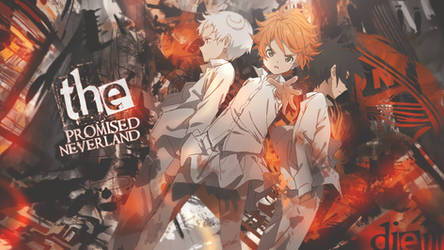 The Promised Neverland Wallpaper by DeathToTotoro