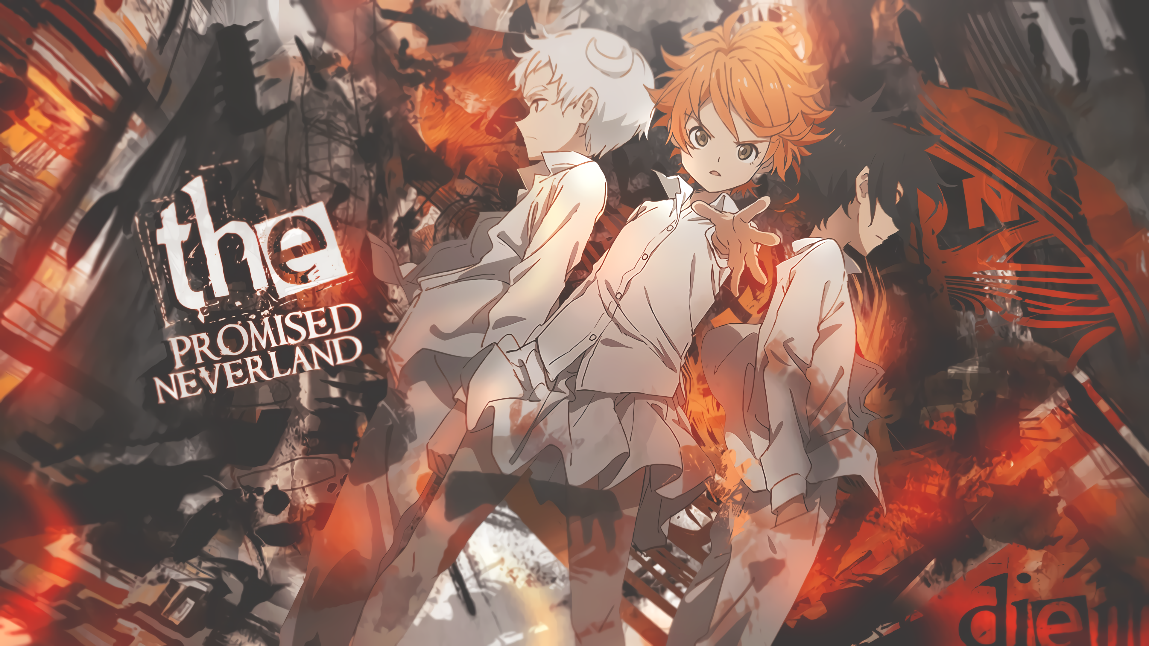 The Promised Neverland Wallpaper By Deathtototoro On Deviantart