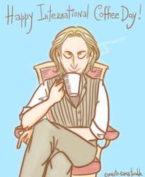 Happy International Coffee Day: Loki (SPN) by comuto-sama