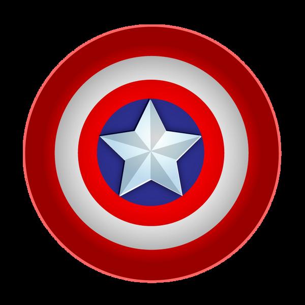 Logo capitan america vectorizado - Imagui