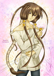 Kazuki of the Threads by JRock-Prophet