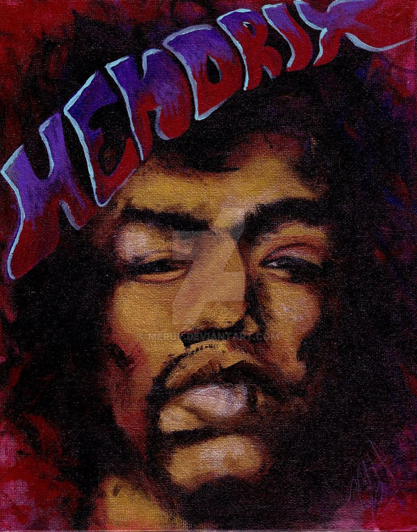 Hendrix by meruy