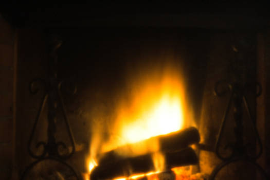 Fireplace pinhole