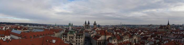 Prague Skyline by Cirdan90