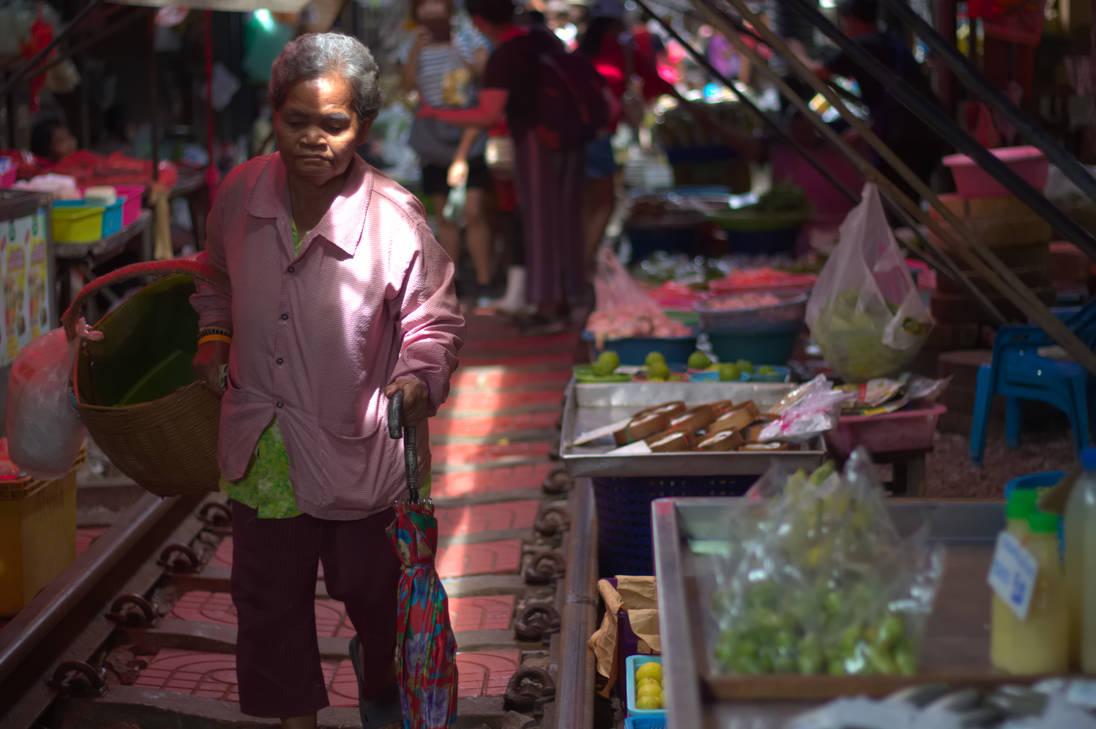 Walking Through the Market by Cirdan90