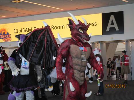 AC 2019 Fursuit Parade: Red Dragon Bryagh