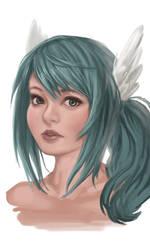 Kippu portrait by KipTeiTei