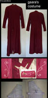 Gaara's Costume by ThundersSilence