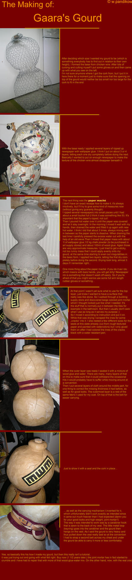 The Making of Gaara's Gourd by ThundersSilence