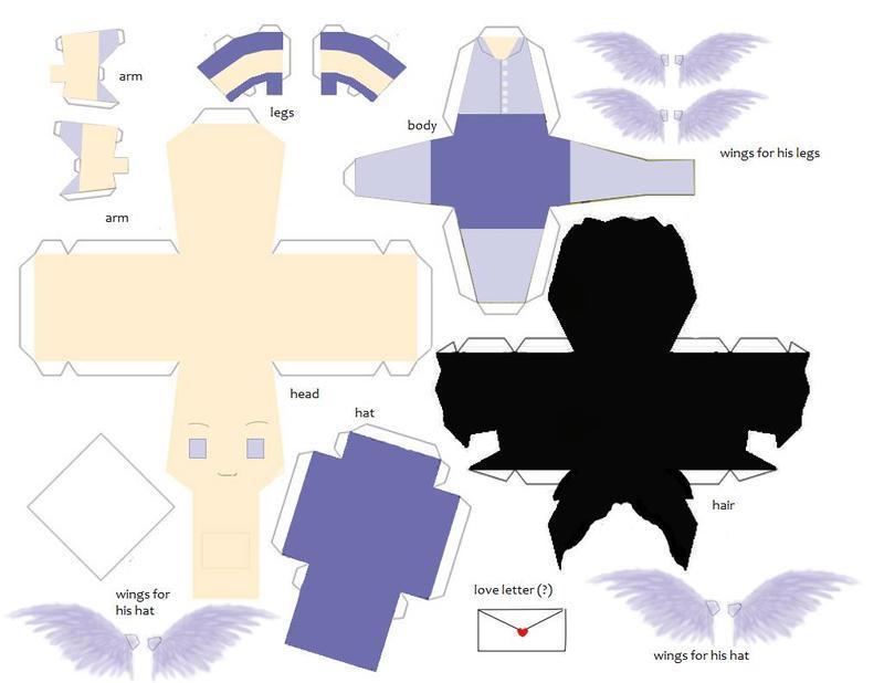 Hermes Papercraft Pattern By Dragazhar On Deviantart
