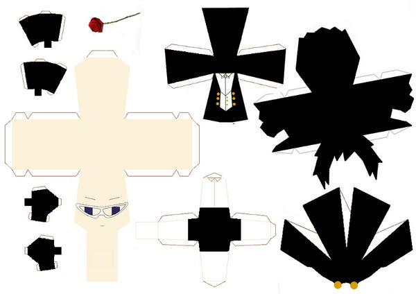 Tuxedo Kamen pattern by Dragazhar
