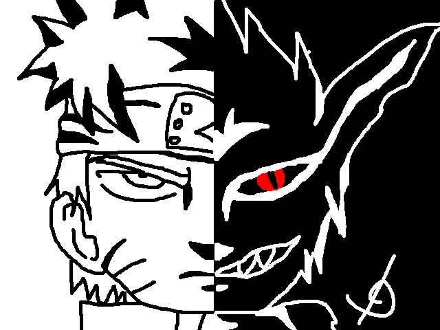 Black And White Naruto By 11Uehara11 On DeviantArt