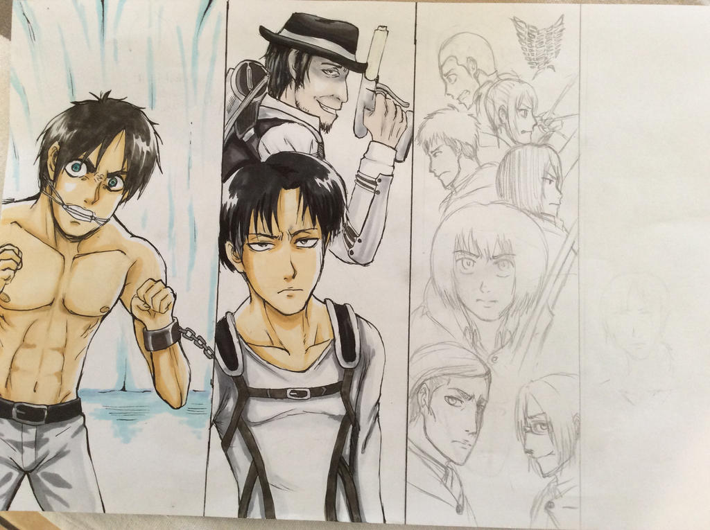 Attack on Titan WIP by 11Uehara11