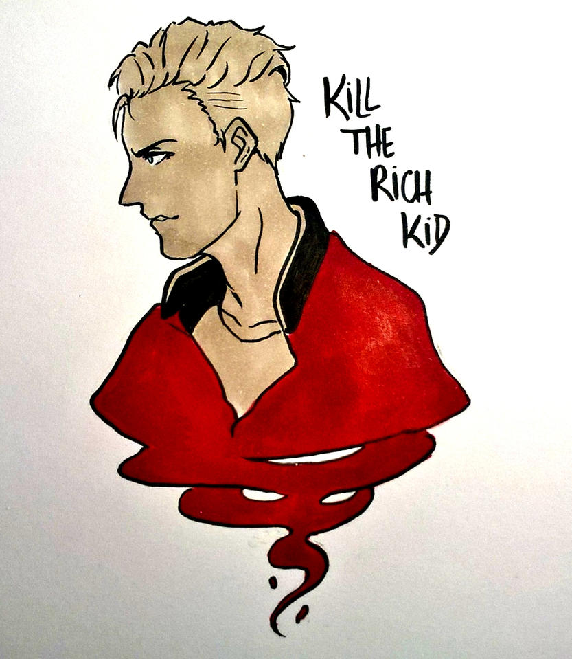Nathan Prescott - KILL THE RICH KID! by 11Uehara11