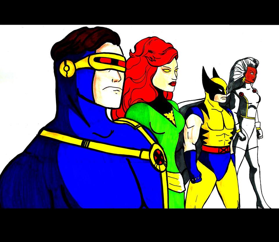 The X-men by xxxphx